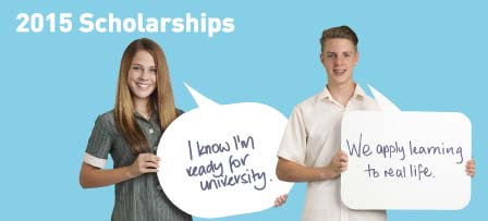 Scholarship for 2015 are now OPEN!