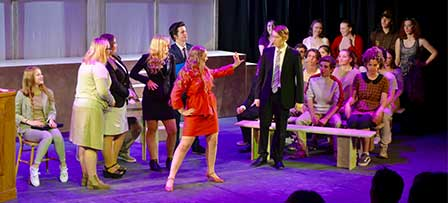 Congratulations to all involved in our super successful musical – Legally Blonde