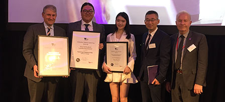 2018 Victorian Global Learning Awards Success